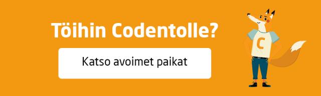 Töihin Codentolle? Katso avoimet paikat.