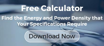 Free Power and Energy Density Calculator CTA