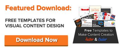 free visual content design templates