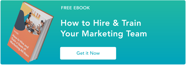 learn how to hire an all-star marketing team