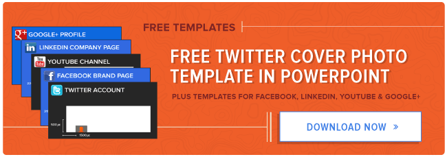 free twitter cover photo template
