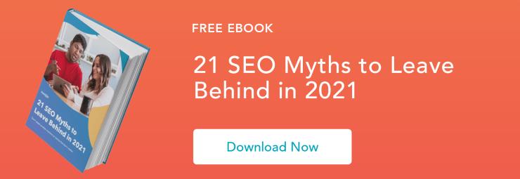 seo myths 2018