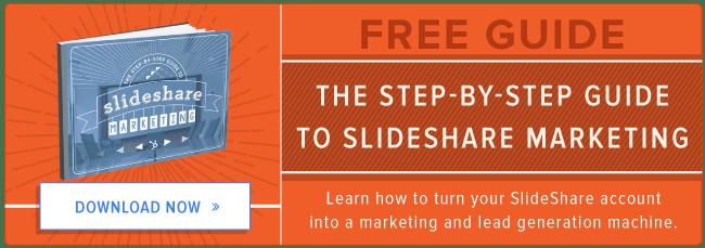 free guide to SlideShare marketing