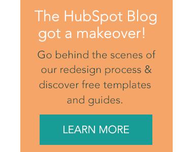 HubSpot Blog Redesign