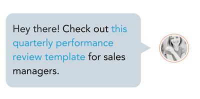Modèle de performance des représentants des ventes