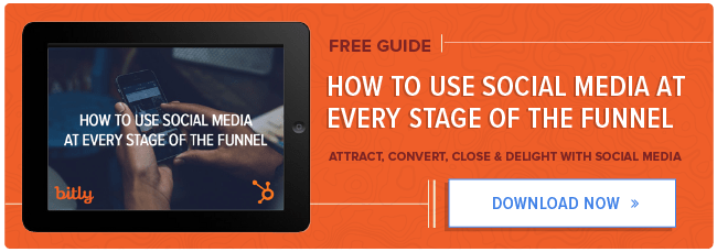 Social Media at Every Stage of the Funnel
