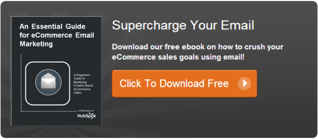 Download The Free Ecommerce Email Marketing Ebook