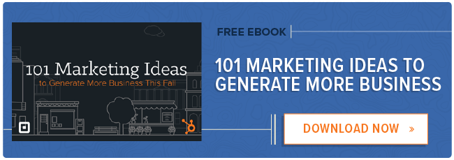 Marketing Ideas to Generate Business