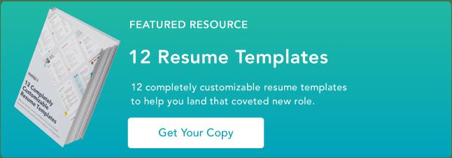 10 free marketing resume templates