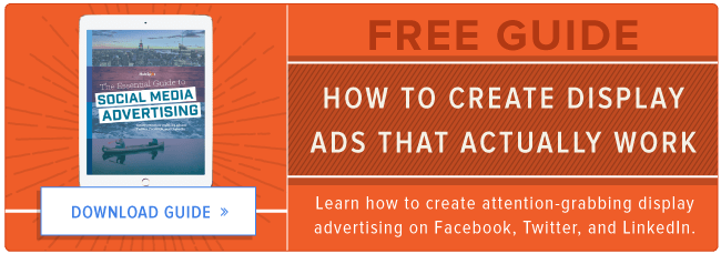 free guide to display advertising in social media