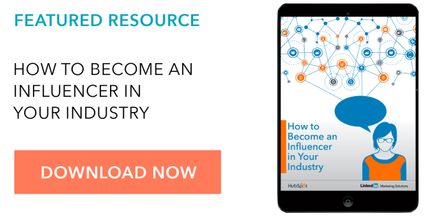 Free Guide Influencer in Industry