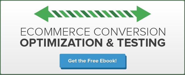 Ecommerce Conversion Optimization and Testing