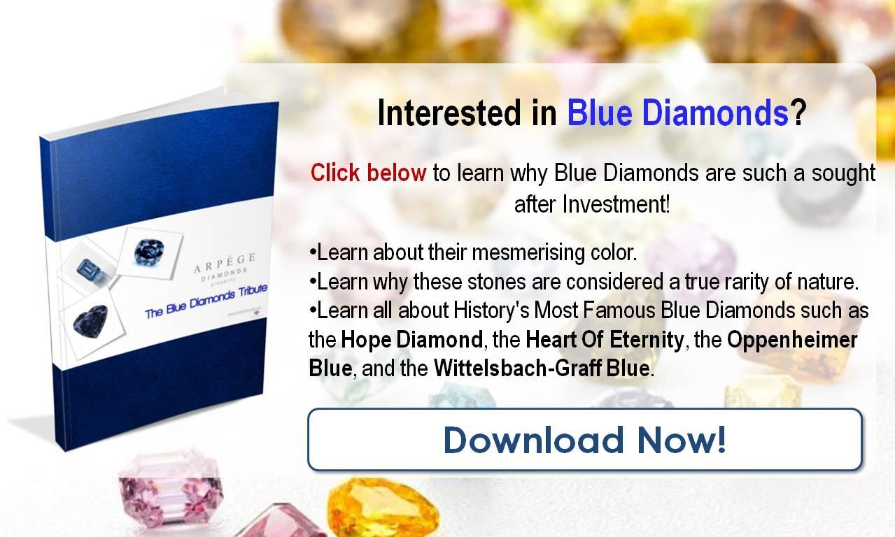Famous Blue Diamonds The De Beers Millennium Jewel 4