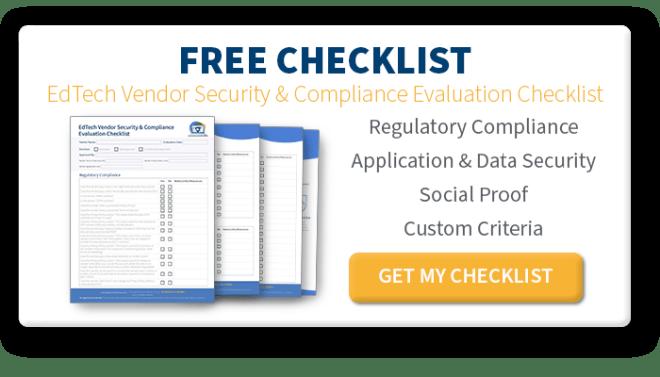 EdTech Vendor Security & Compliance Evaluation Checklist