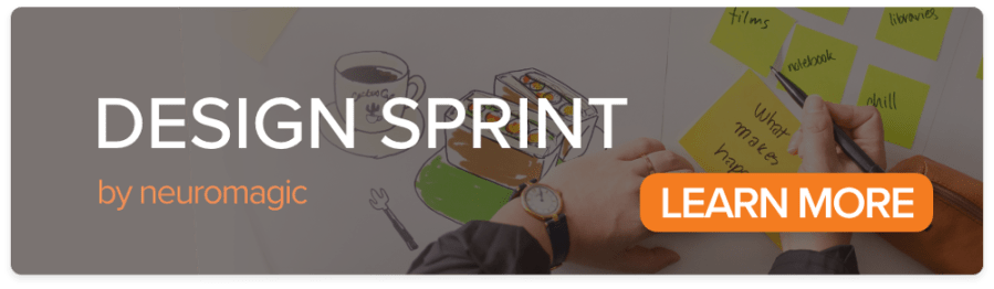 Design Sprint by Neuromagic