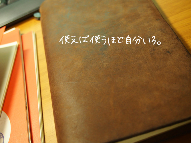TRAVELERS NOTEBOOK 手帳