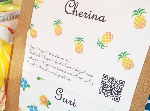 ハンドメイドショップ「Cherina」&「guri」でハンドメイドグッズをお買い物♥