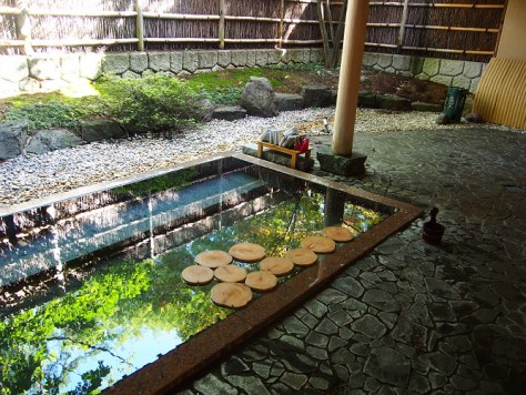 界アルプス 温泉