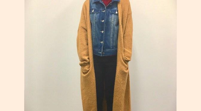 うわさのデニムジャケット+アウターコーデ