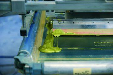 Siebdruck - Textildruck nahezu ohne Grenzen.