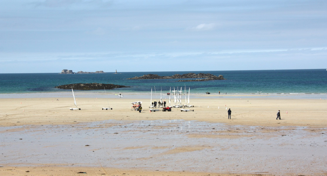 Plage de Saint Malo - No Mad Land