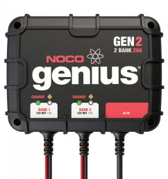 gen2 2 bank 20a on board battery charger [ 1440 x 1440 Pixel ]