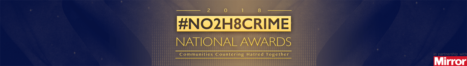 No2H8 Crime National Awards Logo