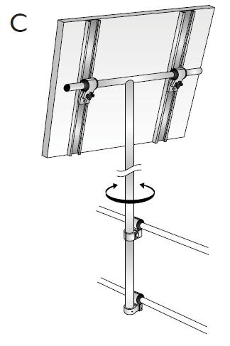 NOA 2 go NOA Solar Panel Mounts