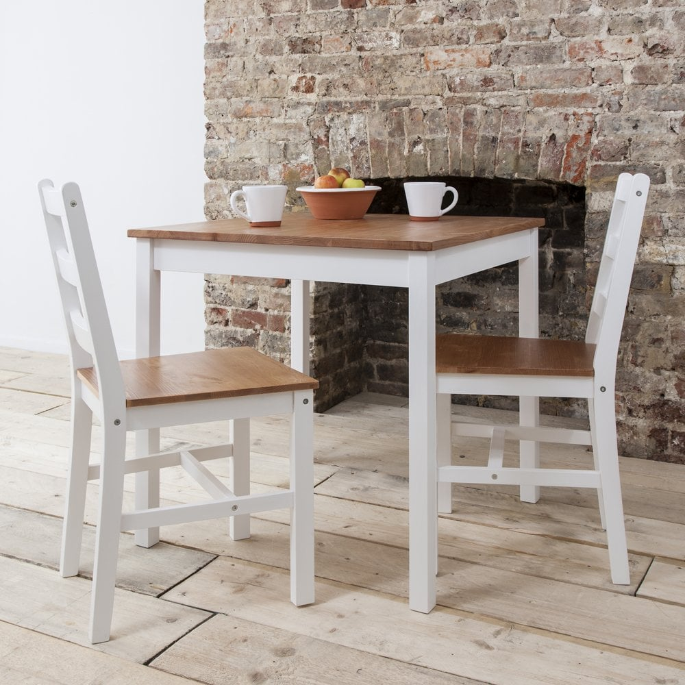 Table With 2 Chairs Annika Bistro Set Table With 2 Chairs Natural White