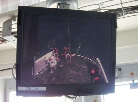 Camera to monitor stern