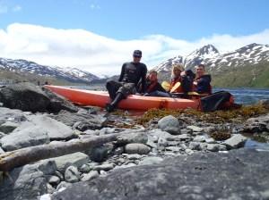 Kayaking in Captains Bay