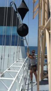Hoisting the ball-diamond-ball