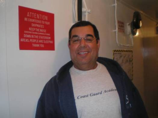 """Jose Coito, Lead Fisherman   """"I try to help the scientific research on the ship whenever I can. I enjoy my job."""""""