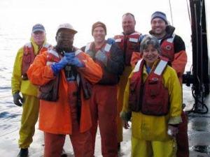 Day Shift Crew (left-ft): Larry Brady, Shayla Williams, Vic Nordahl, Gary Pearson, Shad Mahlum, Lollie Garay