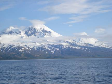 Pavolf and Pavlof's Sister are active volcanoes.