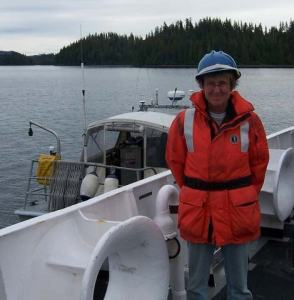 NOAA Teacher at Sea, Beth Carter, prepares to set sail on NOAA Ship RIANIER.
