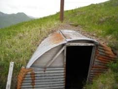 Quonset hut on Mt Ballyhoo