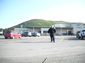 In front of Kodiak Airport