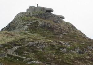 Bunker atop Bunker Hill