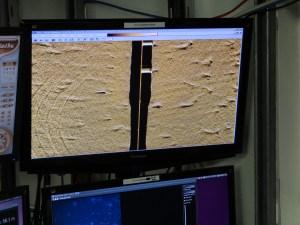 Dredge Marks on Left Screen