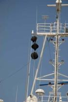 Signal flags.