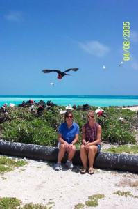 Visiting the seabird sanctuary