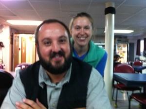 Vince and Kristen, Oscar Dyson Survey Technicians