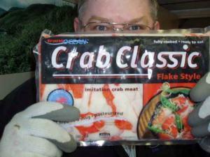 """Crab Classic contains """"Surimi Crab."""""""