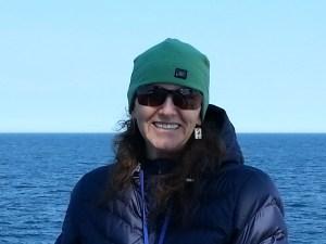 Jen Gatzke, Chief Scientist of AMAPPS Leg 2 aboard the NOAA Ship Gordon Gunter.
