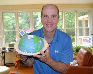 Kevin McMahon, Earth birthday cake