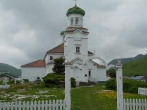 Russian Orthodox Church in Dutch Harbor, AK