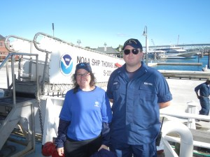 Teacher at Sea with LTJG Matt Forrest