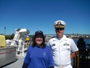 Teacher at Sea with CDR James Crocker