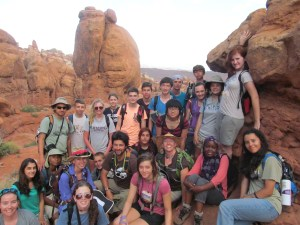 Earth Campers at Arches National Park